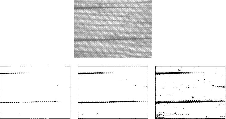 Design of Optimal FIR filters for industrial texture inspection